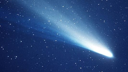 Halley's comet.