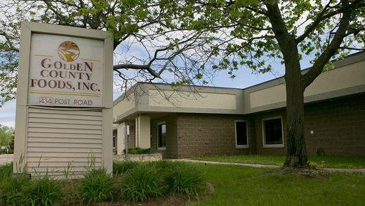 Golden County Foods, based in Plover, is going through bankruptcy and will likely have to terminate all 432 full-time employees, most of whom are expected to be rehired by a new owner.