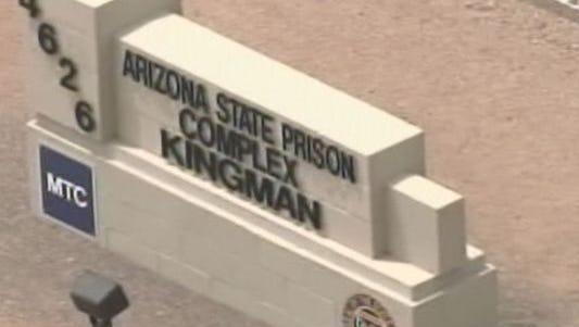 Arizona State Prison near Kingman.