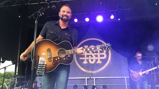The Hunter Smith Band, with former Indianapolis Colts punter Hunter Smith as its star, opened for Blake Shelton in 2015. Smith will perform a free concert Friday night in Richmond