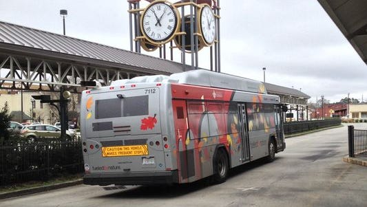 Lafayette transit service will be free next Friday and Saturday.