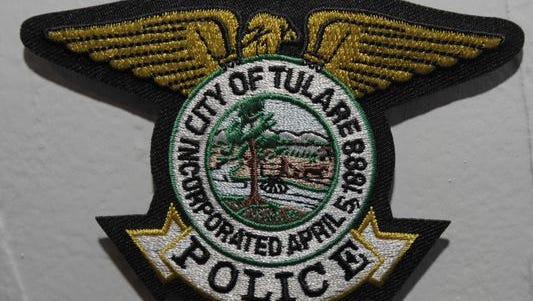 Tulare police patch