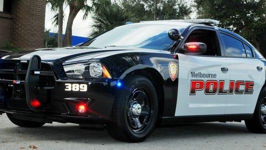 A Melbourne police cruiser.