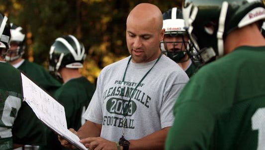 Pleasantville's Tony Becerra was named the Varsity Insider Week 4 Coach of the Week after beating Nanuet 34-0.