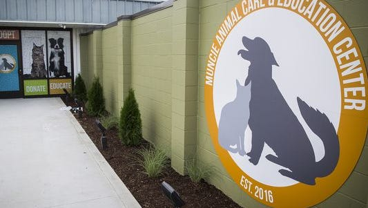Muncie Animal Care and Education Center is located at 901 W. Riggin Rd.