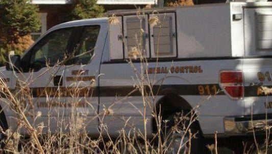Livingston County Animal Control truck