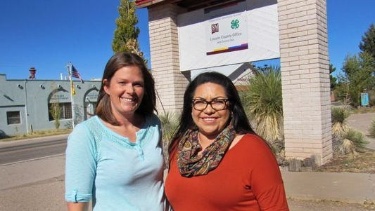Lincoln County Extension Service program director Melanie Gutierrez, left, and administrative assistant Marisol Gonzalez can offer help to residents in many ways.