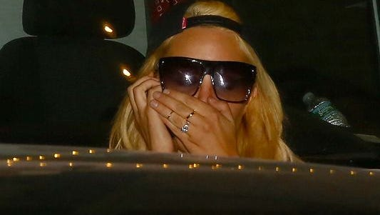 Amanda Bynes in New York on Oct. 6, a few days before being placed on involuntary psychiatric hold in California.
