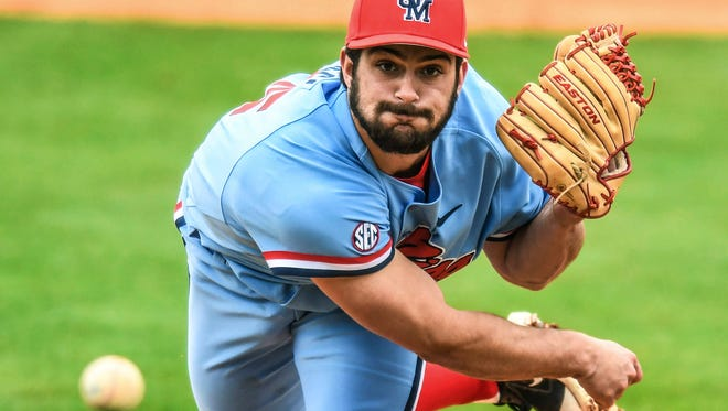 Ole Miss' Parker Paracci helped escaped jams in the eighth and 10th innings Sunday to help the Rebels avoid a sweep at South Carolina.