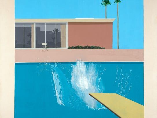"""David Hockney's """"A Bigger Splash."""""""