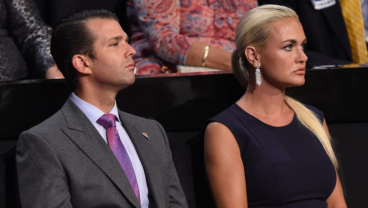 Donald Trump Jr. and wife Vanessa are divorcing