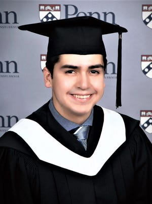 Chad Vigil, Pueblo County High School's 2016 valedictorian, is a 2020 honors graduate of the University of Pennsylvania.