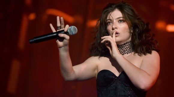 Tell us the secrets, Lorde! The singer had fans searching