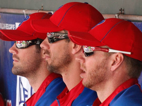 Cole Hamels, Cliff Lee, Roy Halladay