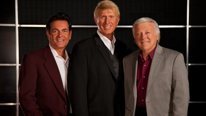 The Lettermen will be performing two concerts at Holy Name of Jesus in Indialantic on Dec. 4. The group is Tony Butala, Donovan Tea and Bobby Poynton. They will be joined by Florence LaRue of the 5th Dimension.
