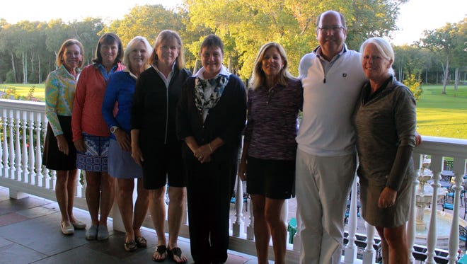 Supporters of Collier Youth Services--Friends of the Spring Lake 5, pose with Sr. Debbie Drago, Executive Director of Collier Youth Services