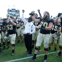 Purdue hits the road for the first time