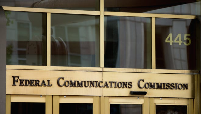 The Federal Communications Commission (FCC) building in Washington.