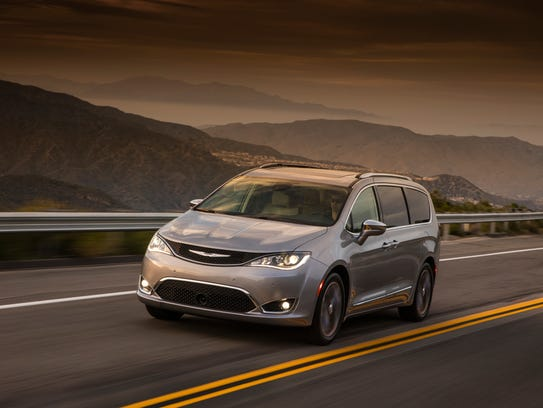 The 2017 Chrysler Pacifica Limited.