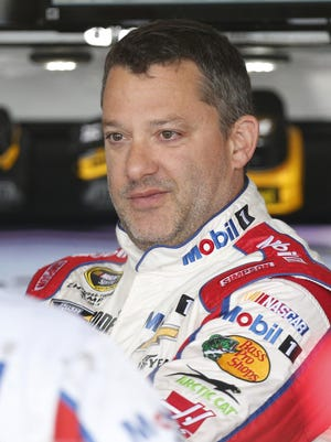 Tony Stewart will race today for the first time this season. He was hurt in an all-terrain accident in January.