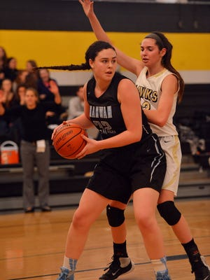 Mahwah senior forward Kayla Devine is averaging 14.8 points and 10 rebounds per game.