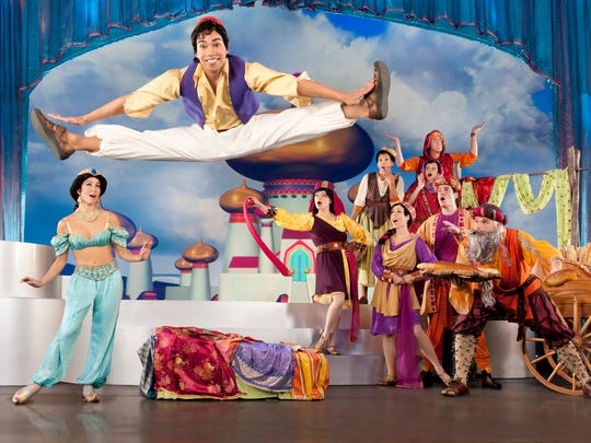 Aladdin and his friends will be a definite highlight of Disney Live! Mickey's Music Festival.