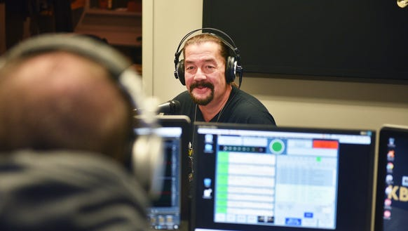"Crash hosts KBACK radio with ""Crazy"" Frank Anderson"