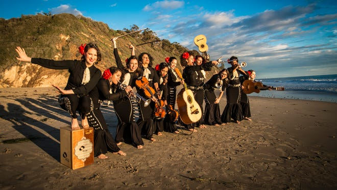 Mariachi Flor de Toloache, the Grammy-nominated all-female mariachi band from New York City, opens the free Levitt AMP Sheboygan Music Series on June 16.