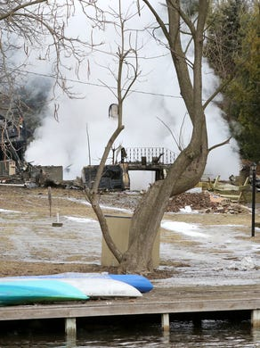 Waukesha man charged with accidentally burning his father's house down hasn't showed up in court for 14 months
