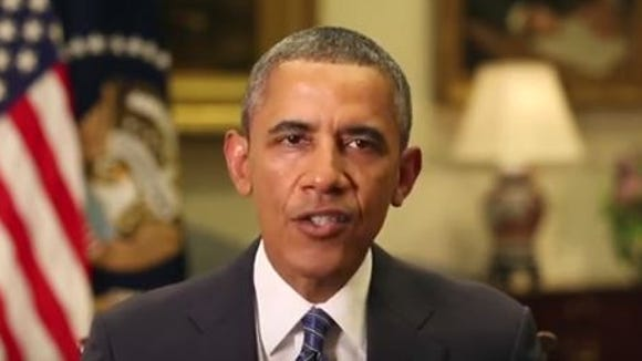 President Obama delivers a weekly radio address on