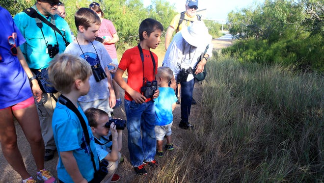 Lots of summer events for kids at Oso Bay Wetlands Preserve.