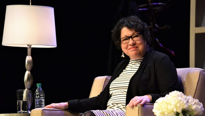 Supreme Court Associate Justice Sonia Sotomayor gave students copious amounts of career and life advice during her Q&A session at Clemson University's Brooks Center for the Performing Arts on Thursday, Sept. 14, 2017.
