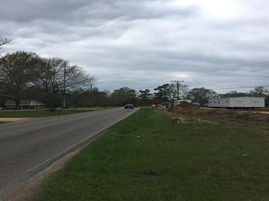 Lincoln Road Extension as it looks now. The road will be improved and upgraded as part of two planned road projects in Lamar County.