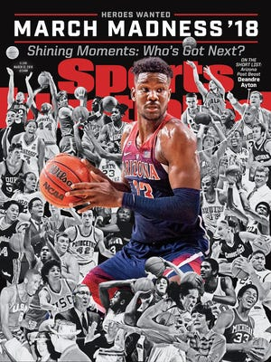 Deandre Ayton is on the cover of Sports Illustrated's NCAA Tournament preview issue.