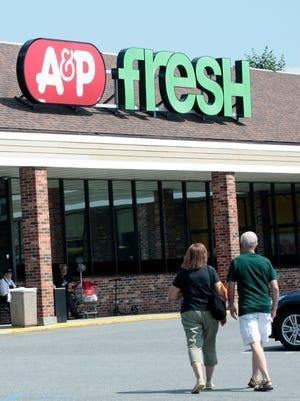 An A&P supermarket July 20, 2015, in Rye Brook, N.Y.