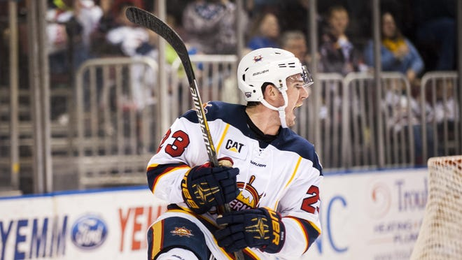 Peoria Rivermen left wing Connor Gorman was among the best players in the franchise's SPHL era.
