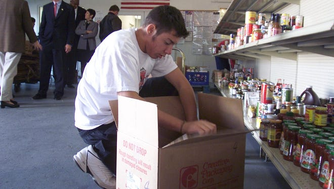Holidays deplete supplies in area food banks. Donating non-perishables helps keep food banks, soup kitchens and shelters supplied all year.