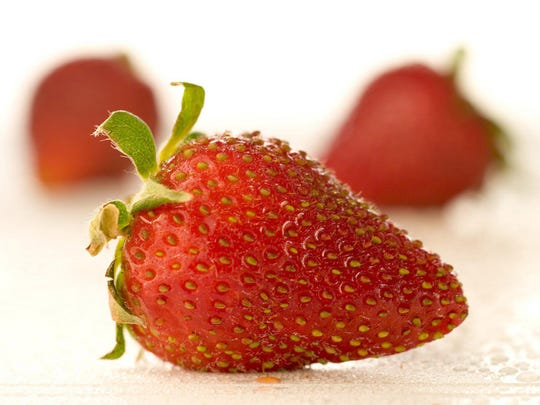 Strawberries provide more than a good source of Vitamin C. They also offer good sources of potassium.
