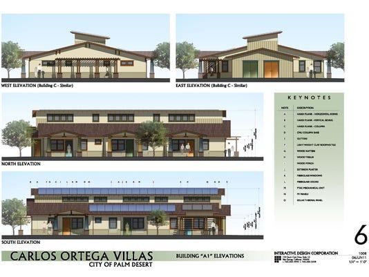 Carlos Ortega Villas rendering