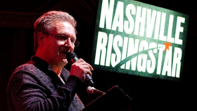 Keith Mohr facilitates the Nashville Rising Star songwriter competition at The Whiskey Room Live, a music venue located within Kings Bowl Cool Springs.