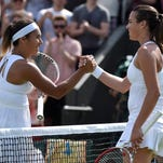 Garbine Muguruza of Spain did well at the French Open but lost to the USA's Coco Vandeweghe in the first round at Wimbledon.