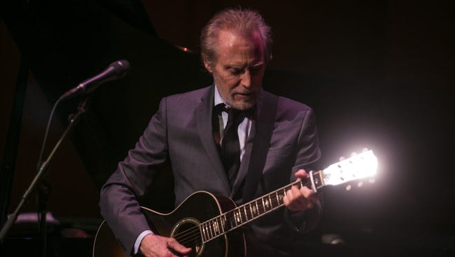 JD Souther performs to a packed house at the Musical Instrument Museum in Phoenix on July 10, 2015.