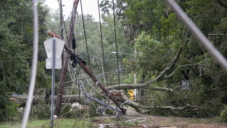 When Hermine knocked out power in Tallahassee, the