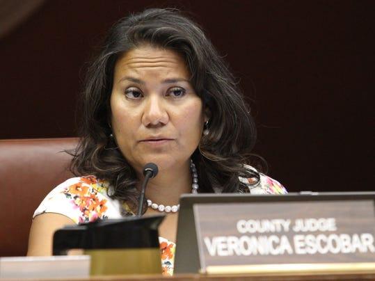 County Judge Veronica Escobar