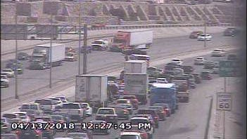 I-10 west at Geronimo