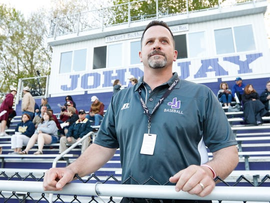 Chris McCarthy, athletic director for John Jay-Cross