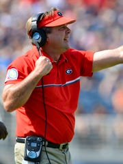 Georgia Bulldogs head coach Kirby Smart