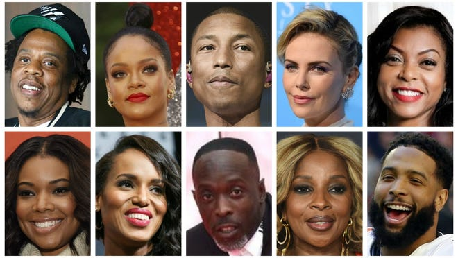 """Ten celebrities sent a letter to Attorney General William Barr on Monday regarding the current U.S. attorney vacancy in the Southern District of New York, using it as a chance to """"reorient the Department of Justice to the case of Danroy 'DJ' Henry."""" The letter was sent by: Shawn """"Jay-Z"""" Carter, Robyn """"Rihanna"""" Fenty, Pharrell Williams, Charlize Theron, Taraji P. Henson, Gabrielle Union, Kerry Washington, Michael K. Williams, Mary J. Blige and Odell Beckham Jr."""
