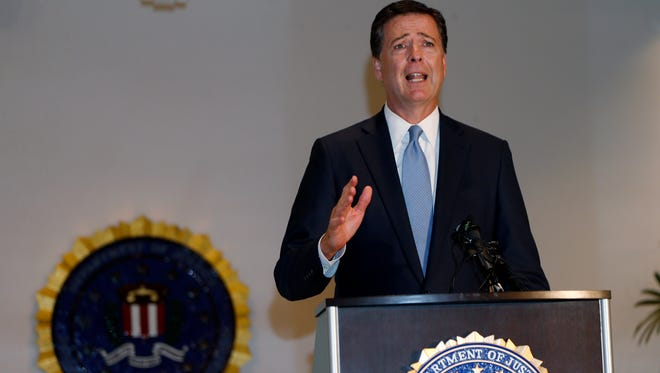 FBI Director James B. Comey says he has no definitive reasons for the uptick in inner-city shootings.