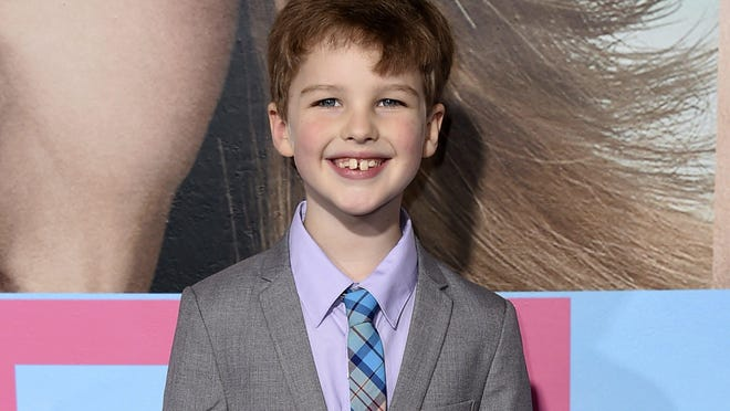 "Iain Armitage will star in ""The Big Bang Theory"" prequel spinoff, ""Young Sheldon,"" portraying Jim Parsons' egotistical, socially awkward genius character Sheldon Cooper at the age of 9."